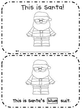 This is Santa! - Emergent Reader