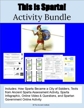 This is Sparta! Learning Bundle on the City-State of Ancie