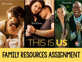 This is Us - Family Resources Assignment