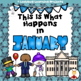 This is What Happens in January (Sight Word Readers and Teacher Lap Book Bundle)