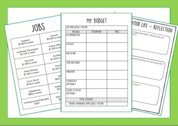 This is Your Life - Budgeting Activity