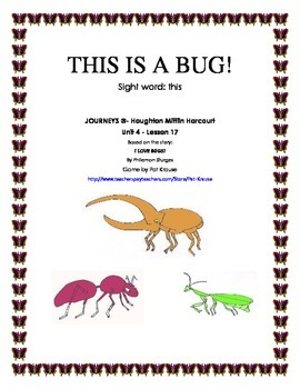 Sight Word: this -THIS IS A BUG!