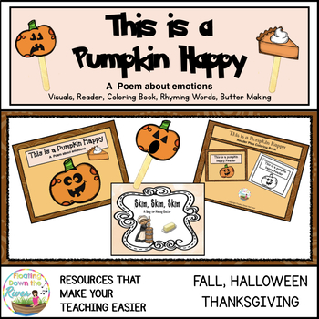 This is a Pumpkin Happy Poem for  Fall, Halloween, and Thanksgiving