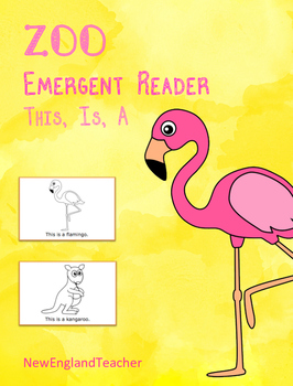 This is a Zoo Printable Emergent Reader Book for Early Readers