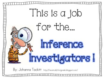 This is a job for the... Inference Investigators!