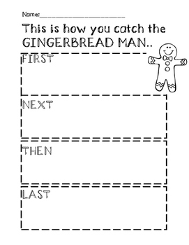 This is how you catch the GINGERBREAD MAN...