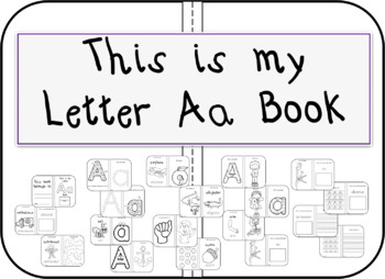 This is my Letter Aa Book