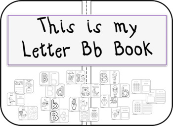 This is my Letter Bb Book
