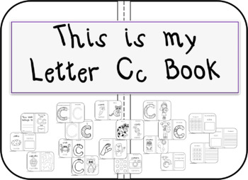 This is my Letter Cc Book