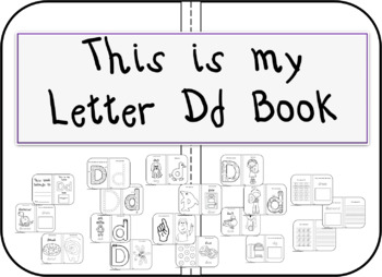 This is my Letter Dd Book