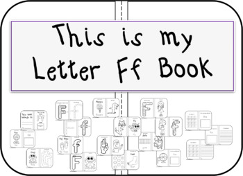 This is my Letter Ff Book