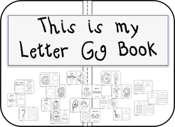 This is my Letter Gg Book