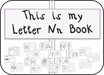 This is my Letter Nn Book