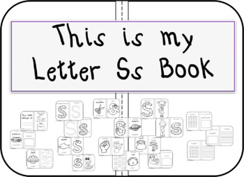 This is my Letter Ss Book