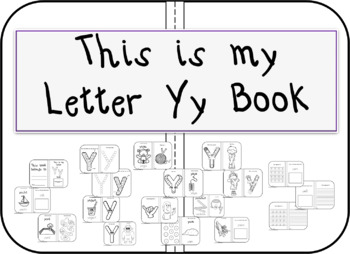 This is my Letter Yy Book