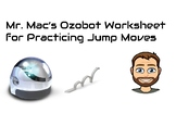 This is my first attempt at making my own practice sheet for Ozobot