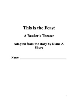 This is the Feast Reader's Theater Script