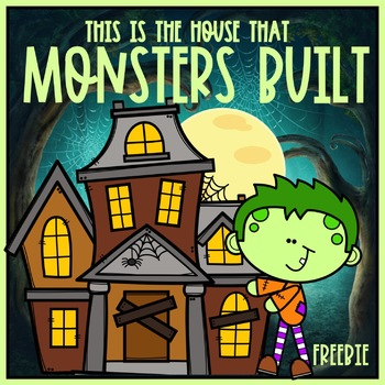 This is the House That Monsters Built FREEBIE FUN