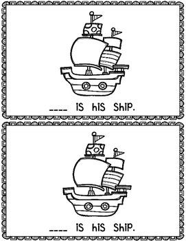 This is the Pirate~ emergent reader