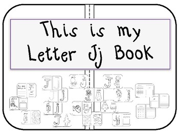 This my Letter Jj Book