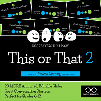 This or That 2: An Icebreaker that Rocks!