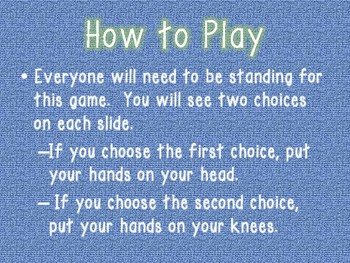 This or That? Back to School Icebreaker Game