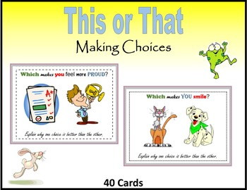 This or That (Making Choices)