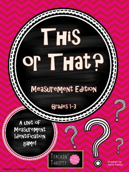 This or That? Measurement Game