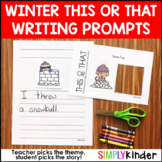 Winter This or That Writing Prompts
