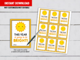 This year is going to be Bright Gift Tags, Sunshine Classmates card Ideas