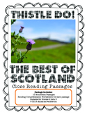 Thistle Do! The Best of Scotland: Close Reading Comprehension Package