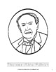 Thomas Alva Edison Coloring Book with Print Copywork