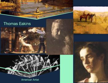 Thomas Eakins - American Artist - 1844-1916 - Realism - FREE POSTER