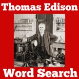 THOMAS EDISON ACTIVITY