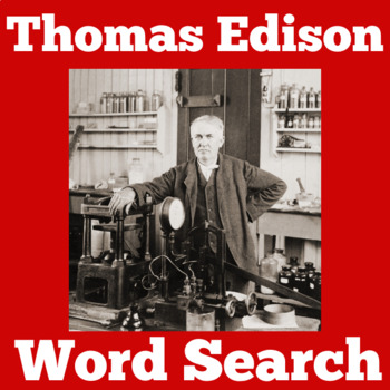 THOMAS EDISON ACTIVITY