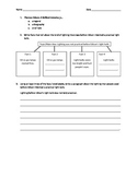 Thomas Edison: A Brilliant Inventor Assessment Chapters 1-3