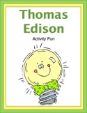 Thomas Edison Activity Fun