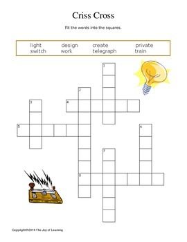 Thomas Edison Activity Fun