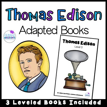 Thomas Edison - Adapted Book Series