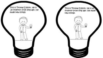 Thomas Edison Book English/Spanish