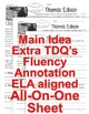 Thomas Edison FACTS Close Read 5 levels TDQ Annotation Flu