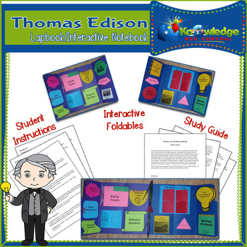 Thomas Edison Lapbook