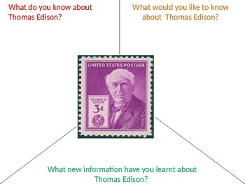 Thomas Edison History and Quiz