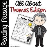 Thomas Edison Reading Passage