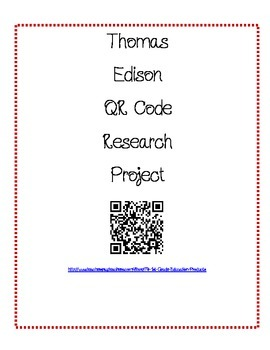 Thomas Edison Research with QR codes