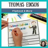 Thomas Edison 1st Grade Inventor Flip Book