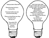 Thomas Edison invention activity