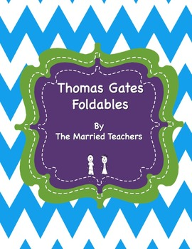 Thomas Gates Interactive Historical Figure Foldables