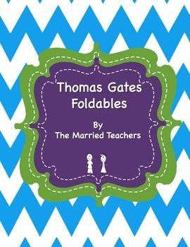 Thomas Gates Interactive Historical Figure Foldables