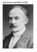 Thomas Hardy Handout